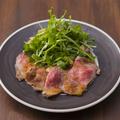 料理メニュー写真AUS産アンガス牛のローストビーフ ポン酢マリネ