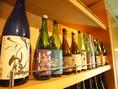 豊富な日本酒を取り揃えております。
