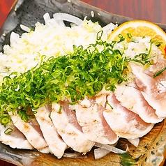 宮崎地鶏のたたき葱ぶっかけ