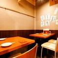 テーブル席4名様席×1