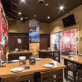 【テーブル席/4名~20名様】テーブル席は、2/4/6/8名様用もご用意しているので、小・中宴会にもおすすめです!会社の部署飲み、友人との集まり、女子会など様々なシーンでご利用頂けます☆