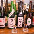多種多様な日本酒を揃えております