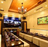 【LOVINA】同ビル内に併設のゴージャスな完全個室です♪宴会にぴったりなカラオケ完備、美味しい料理が自慢です。※20~30名様収容可能