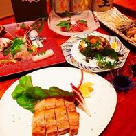 各種ご宴会コースは10品のお料理をお出しします。