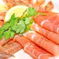 料理メニュー写真~シュペック~イタリア産燻製生ハム