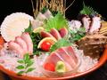 料理メニュー写真瀬戸内!刺身のすり鉢5種盛り