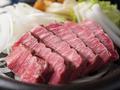 料理メニュー写真A4ランク佐賀牛の鉄板ステーキ
