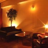 ダウンライトがぐっと雰囲気をあげてくれます。オトナコンパ、デート、女子会にも最適。
