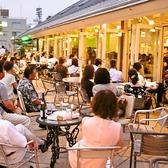 貸切でのコンサートは店内外オープンエアー