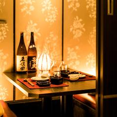 周りを気にしないプライベート空間でいつもと違った宴会を…広々ゆったりとした個室は記念日などの特別な日のお祝い事にもピッタリ◎お得なクーポン多数ご用意!