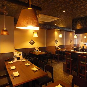 鉄板串焼Dining 串ばる 本店の雰囲気1