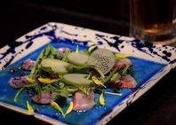 彩り鮮魚のカルパッチョ