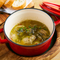料理メニュー写真牡蠣のアヒージョ