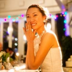 この日の結婚披露宴は90名様で。