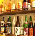 日本酒、地酒,梅酒,焼酎は充実のラインナップ!※画像は一例です