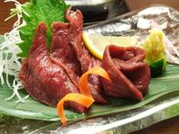 エゾシカ肉のたたきがおすすめ
