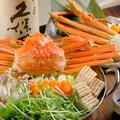 料理メニュー写真海千魚千名物!紅ずわい蟹鍋