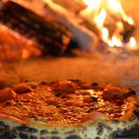 薪で焼く本格ナポリの石窯
