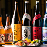 【豊富な日本酒・焼酎】逸品料理との相性もぴったり!