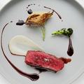 料理メニュー写真飛騨牛のグリエ テリーヌに仕立てたポンム・リヨネーズ