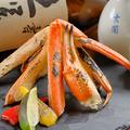 料理メニュー写真紅ずわい蟹の炭火焼き