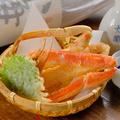 料理メニュー写真紅ずわい蟹の天ぷら