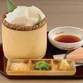 料理メニュー写真ざる盛りすくい豆腐