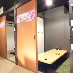 写真は2名様完全個室★何名様でも完全個室へご案内★※系列店舗との併設店舗となります