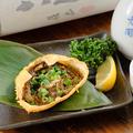 料理メニュー写真紅ずわい蟹の甲羅蟹味噌焼き
