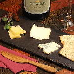料理メニュー写真フロマージュ(チーズ)の盛り合わせ