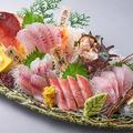 料理メニュー写真沼津港直送!地魚5種盛り合わせ (小/大)