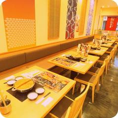 【ランチもやってます】壁もおしゃれ!ゆっくりお食事をお愉しみ頂けます。