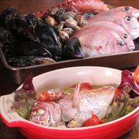 鮮度が命☆鯛のアクアパッツア
