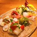 料理メニュー写真デリツィオーゾ風魚介類の前菜盛り合わせ