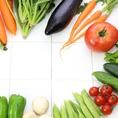 野菜ソムリエがおりなす料理の数々・・・・