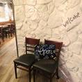 8名様席もご用意。落ち着いた雰囲気の中でお食事をお楽しみください。様々なサイズのお席をご用意しております。
