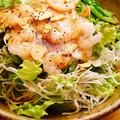料理メニュー写真山芋と海老のとろとろサラダ