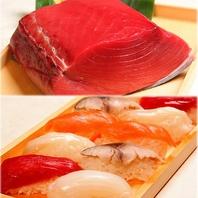 お寿司は本マグロ使用!