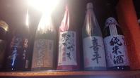 ズラッと店内に日本酒…『岡山地酒』もそろえてます!!