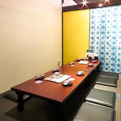 贅沢な雰囲気も楽しめる個室もご用意