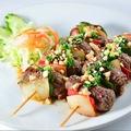 料理メニュー写真Bo Xien 牛肉と玉ねぎの串焼き