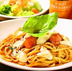 ポモドリーノとモッツァレラのトマトソース