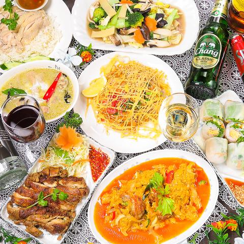 タイ料理 カフェ オーキッド 池袋西口店