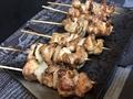 料理メニュー写真鶏串/豚串/砂肝串/もつ串