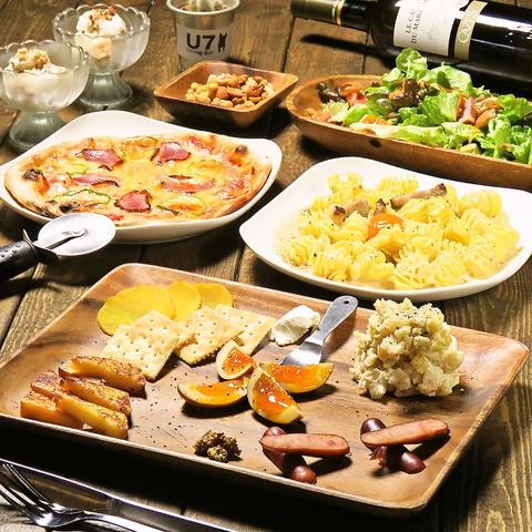美味しい料理とお酒を楽しめるオシャレ空間はデートにもピッタリ