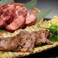 料理メニュー写真仙台名物!厚切り牛タン炭火焼き