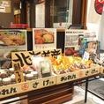 北海道の美味しいもの揃いの物販も大好評♪