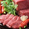 料理メニュー写真最高級A5仙台牛漬込み石焼、ステーキ