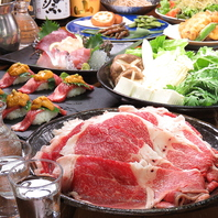 【歓送迎会におすすめ】贅沢鍋コースもご用意!