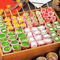 料理メニュー写真日替わり旬食材の豚巻き串